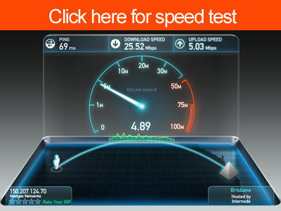 Click here for speed test